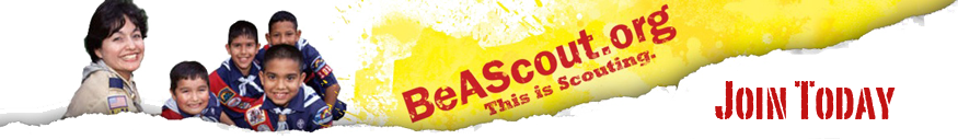 Be a Scoutbanner