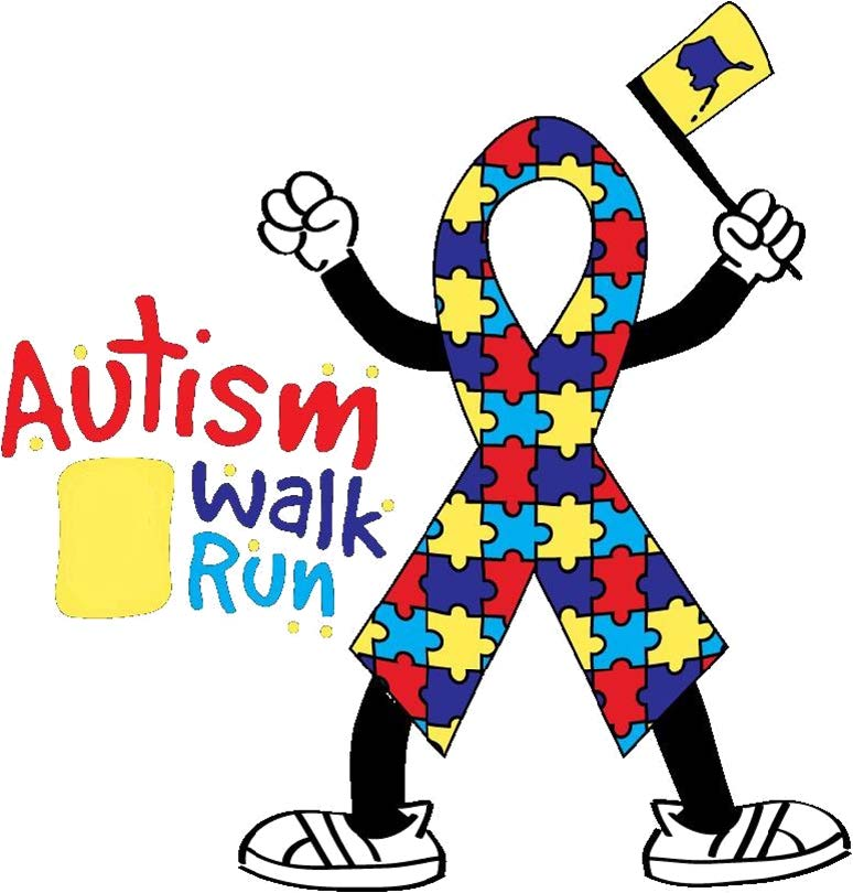 5k for autism flyer