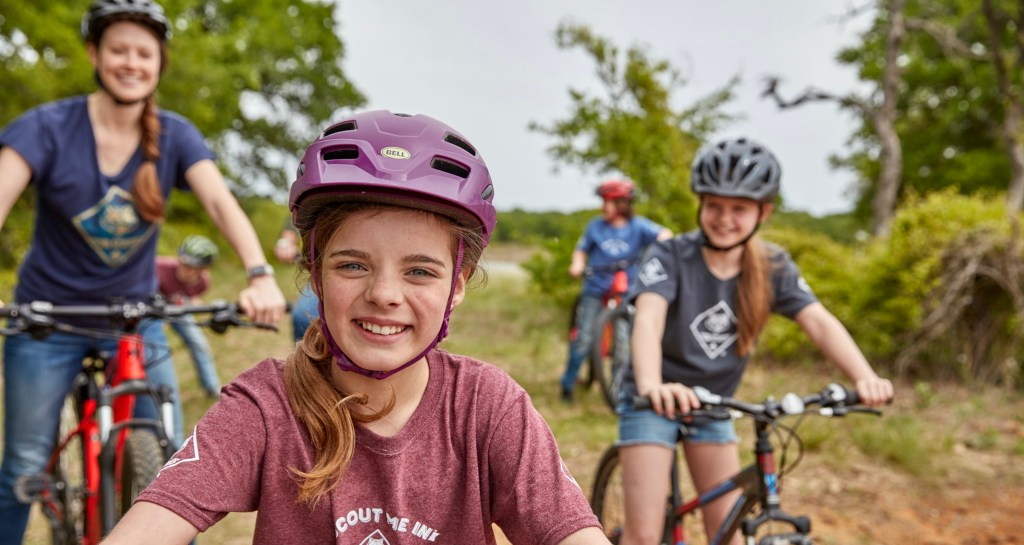 Cub Scouts bicycles 1